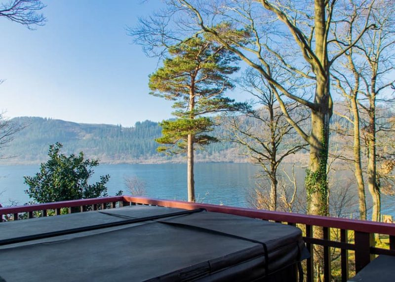 lodges with hot tubs lake district