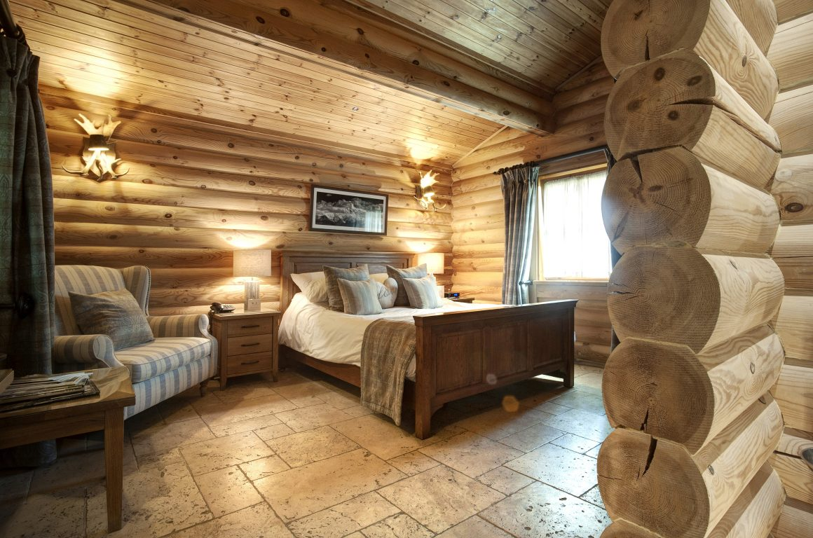 ruka log cabin with hot tub Thirsk