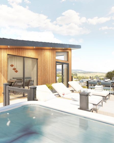lodges with hot tubs devon