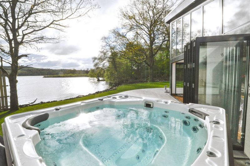 lodges with hot tubs loch lomond
