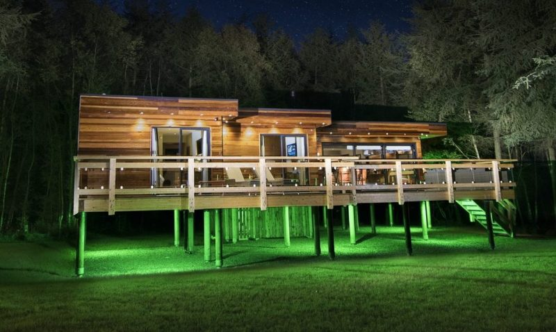 luxury lodges with hot tubs near Thirsk