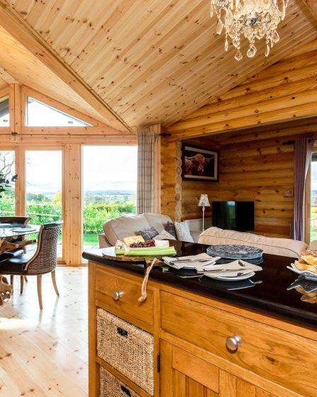 Lodges with hot tubs in the Yorkshire Dales