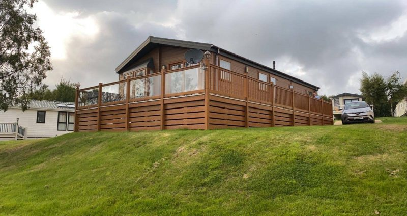 lodges with hot tubs alnwick