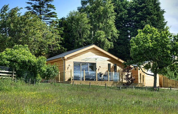 lodges with hot tubs hexham