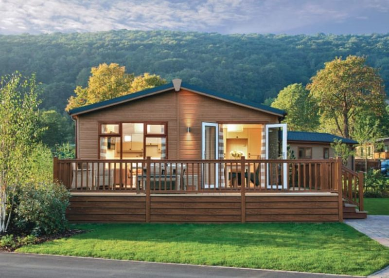 lodges with hot tubs somerset