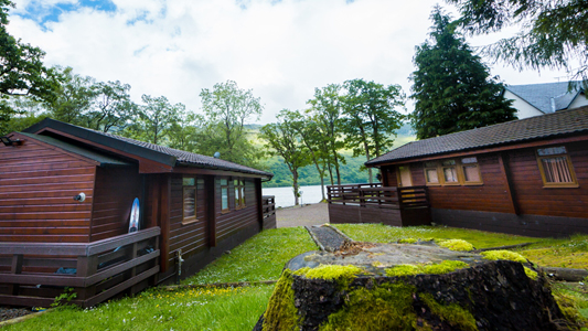 log cabins with hot tubs loch lomond