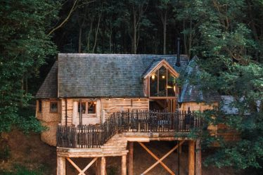 treehouses yorkshire
