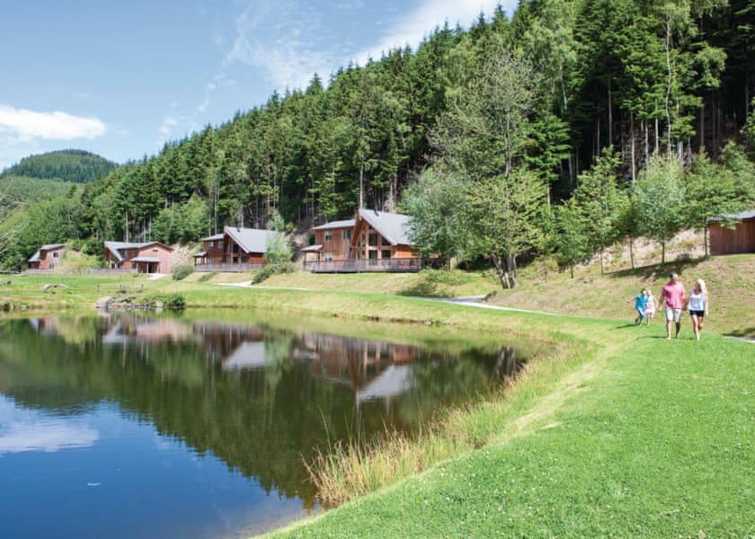 Fishing Lodges with Hot Tubs Wales