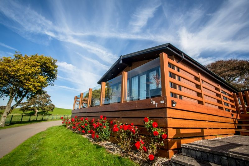 Log Cabins with Hot Tubs Anglesey