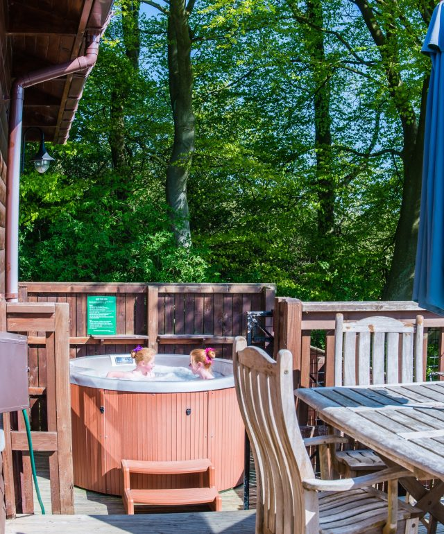 Lodges and log cabins with Hot Tubs Scotland