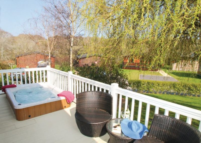 new forest lodges with hot tubs