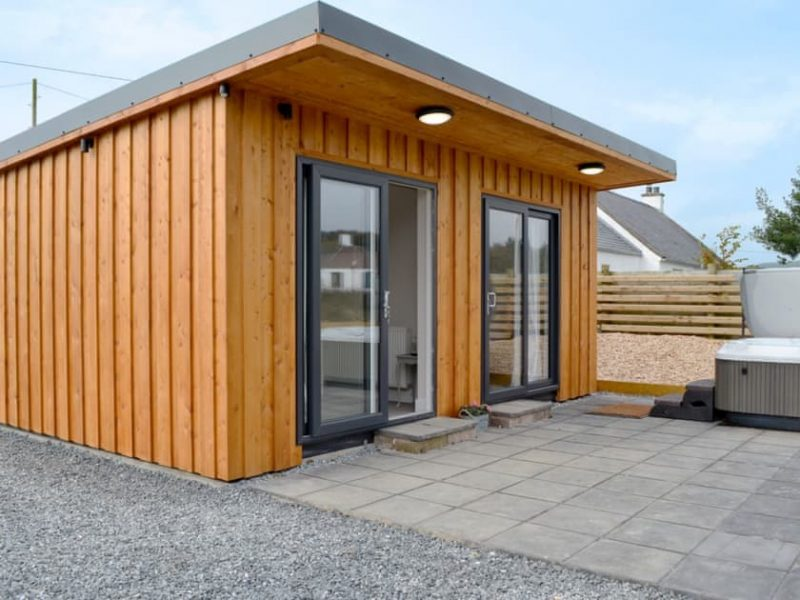 hot tub lodges dumfries
