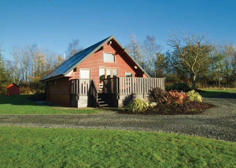 lodges with hot tubs dumfries