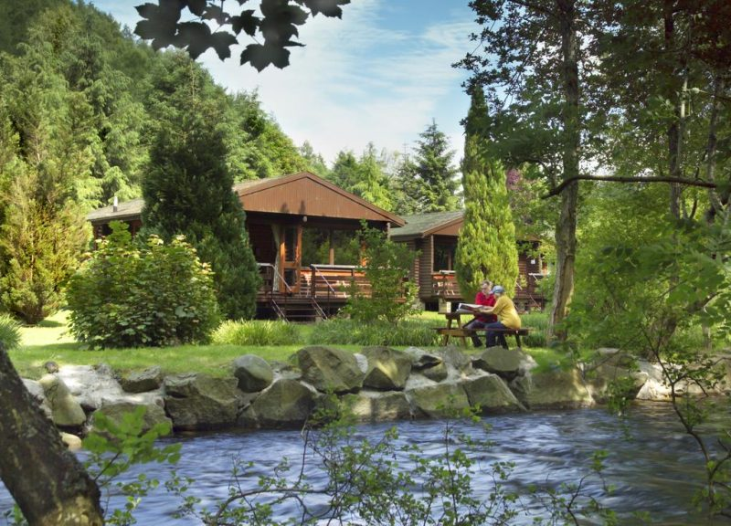 log cabins and lodges with hot tubs loch tay